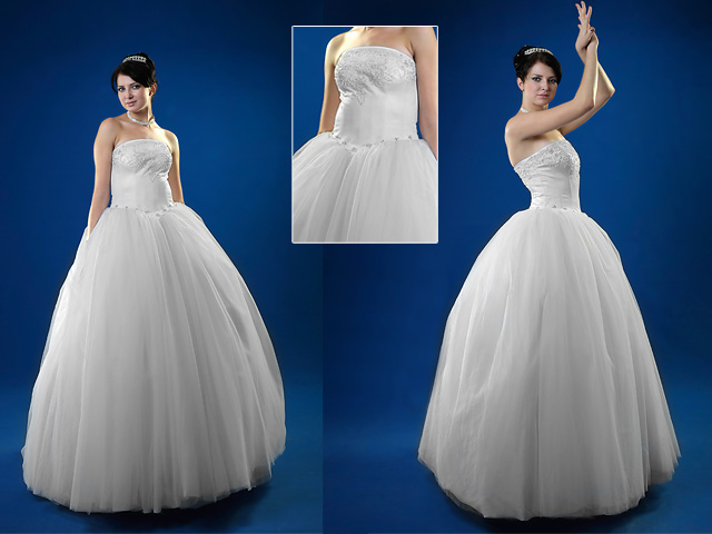 Ball gown bridal dresses russian weddingrussian wedding for Full skirt wedding dress