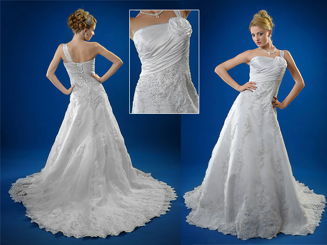 Wedding train gowns